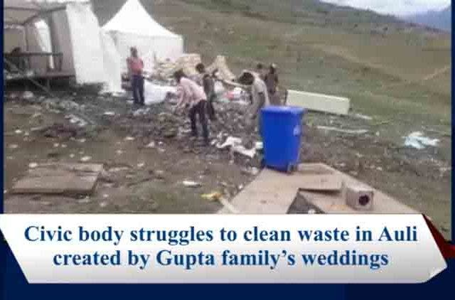 Gupta's-Weeding-Waste-In-Auli-Videos-DKODING