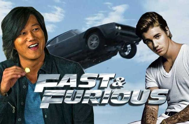 Han and Justin Bieber Fast and Furious 9