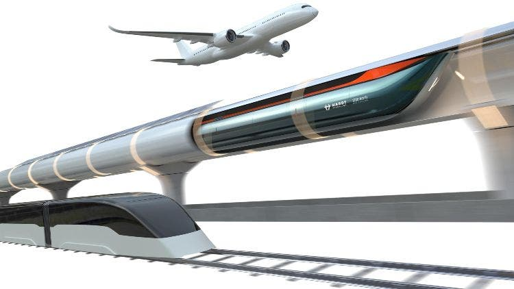 Hardt Hyperloop Holland Green Superpower