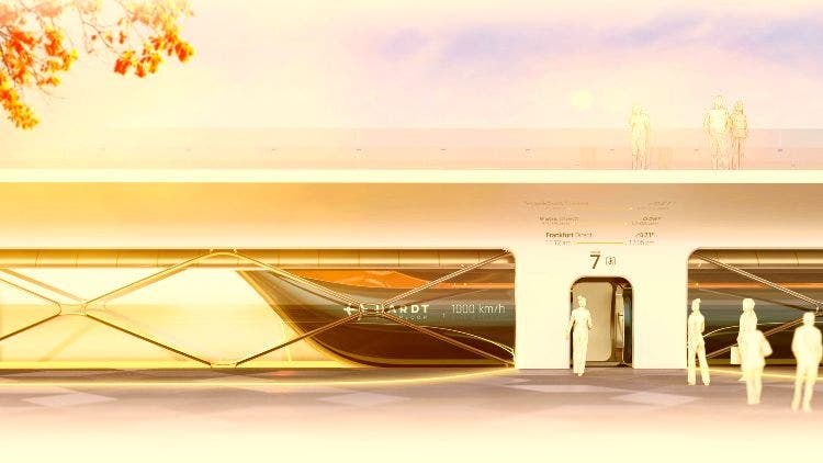 Holland Eyes 'First Green Superpower' Status With Hardt Hyperloop