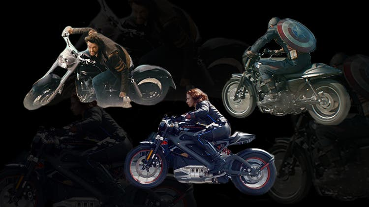 Riders Of The Storm: Marvel-ous Superhero Motorbikes To Die For