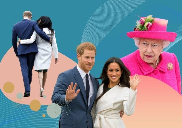 Harry Meghan Markle Royal Exit influenced by the Crown?