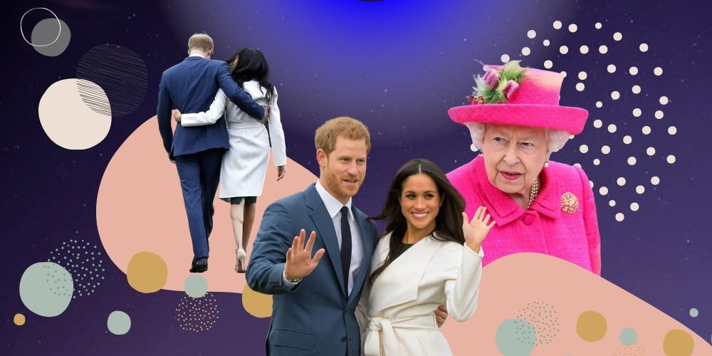 Prince Harry and Meghan markle Royal Exit influenced by The Crown?