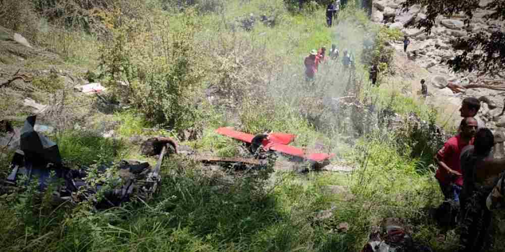 Helicopter-Carrying-Relief-Material-Crashes-More-News-DKODING