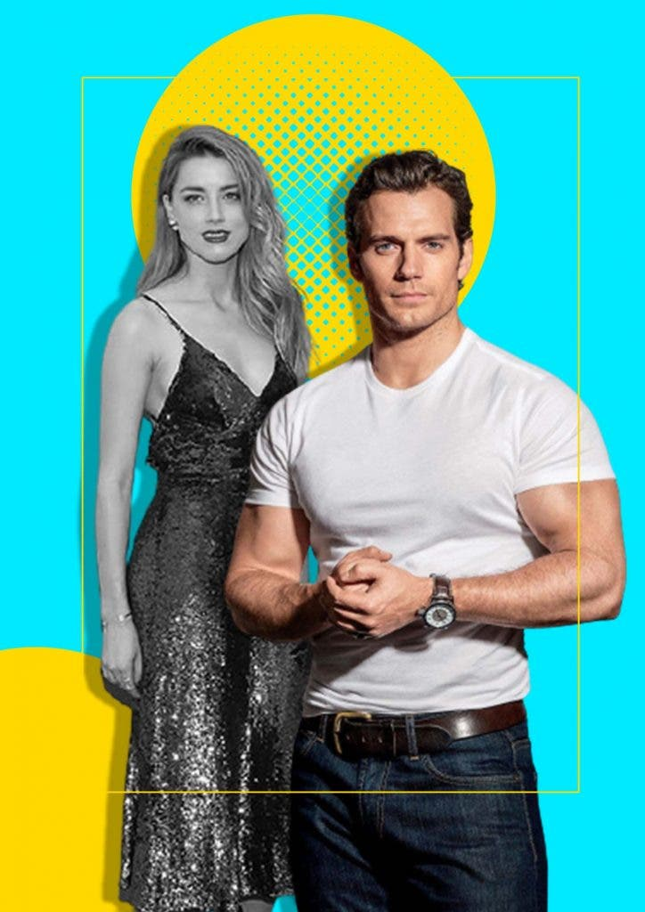 Henry Cavill and Amber Heard are secretly connected to each other in this way
