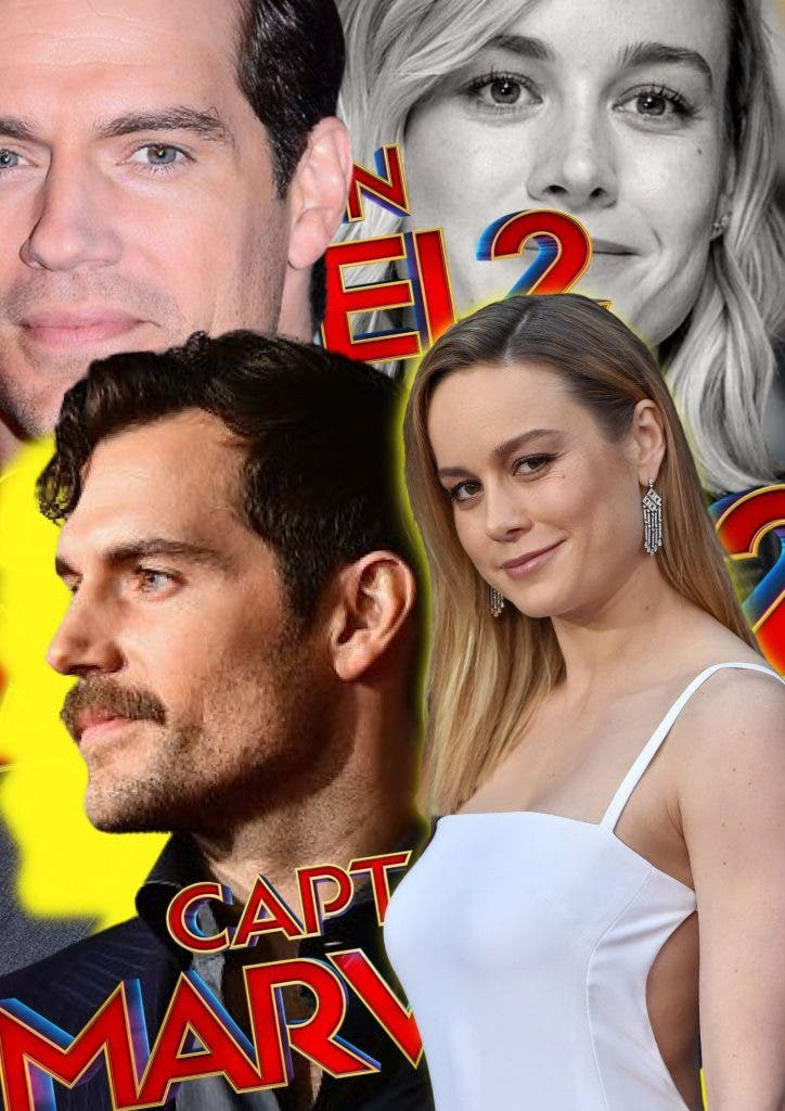 Henry Cavill to be a part of 'Captain America 2' alongside Brie Larson