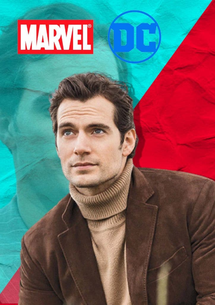 Henry Cavill is jumping ship from DC to Marvel