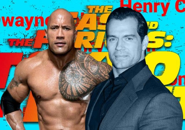 Henry Cavill asking Dwayne Johnson for a role in 'Fast and Furious'?