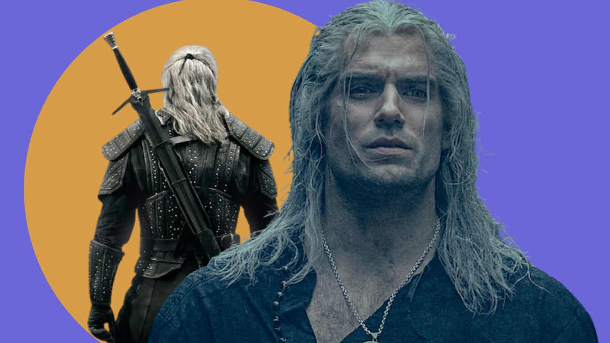 The new Witcher armour makes it worse for Geralt