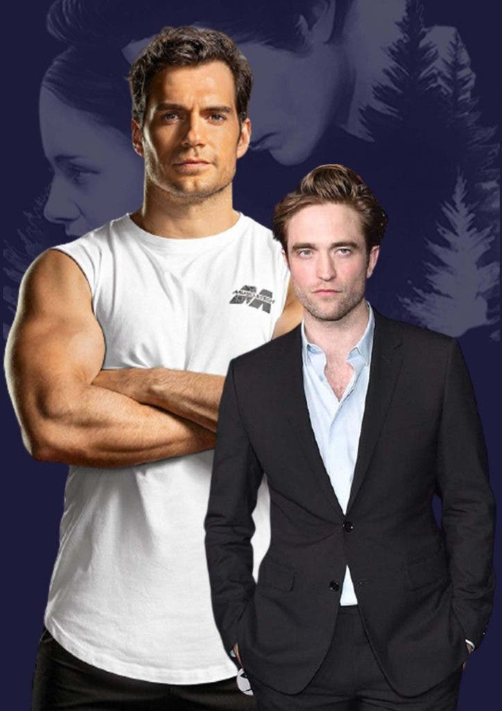 Henry Cavill was the first choice to play Edward Cullen in 'Twilight' but Robert Pattinson replaced him