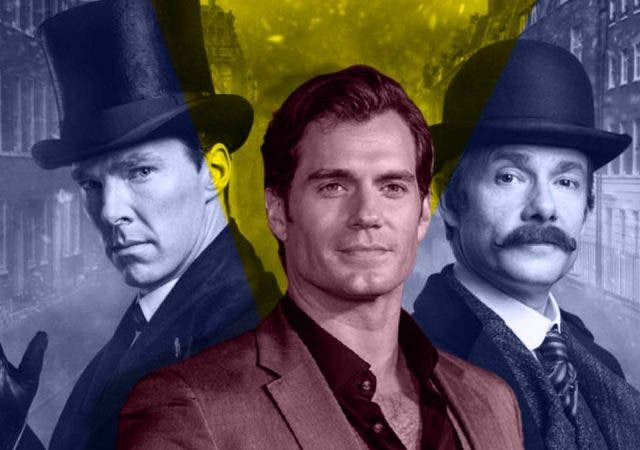 Get ready to witness too-much Sherlock Holmes madness with Henry Cavill