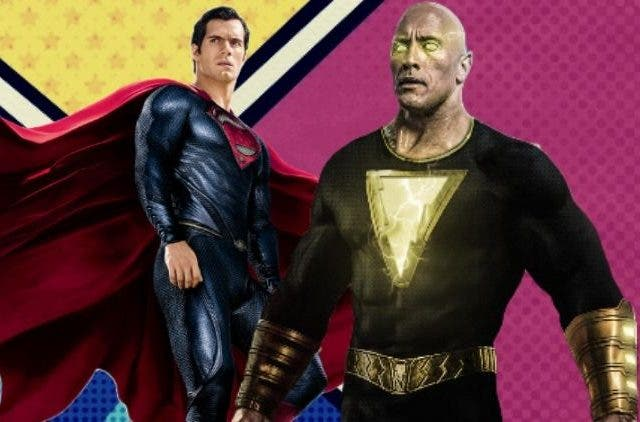Henry Cavill Superman Black Adam DKODING