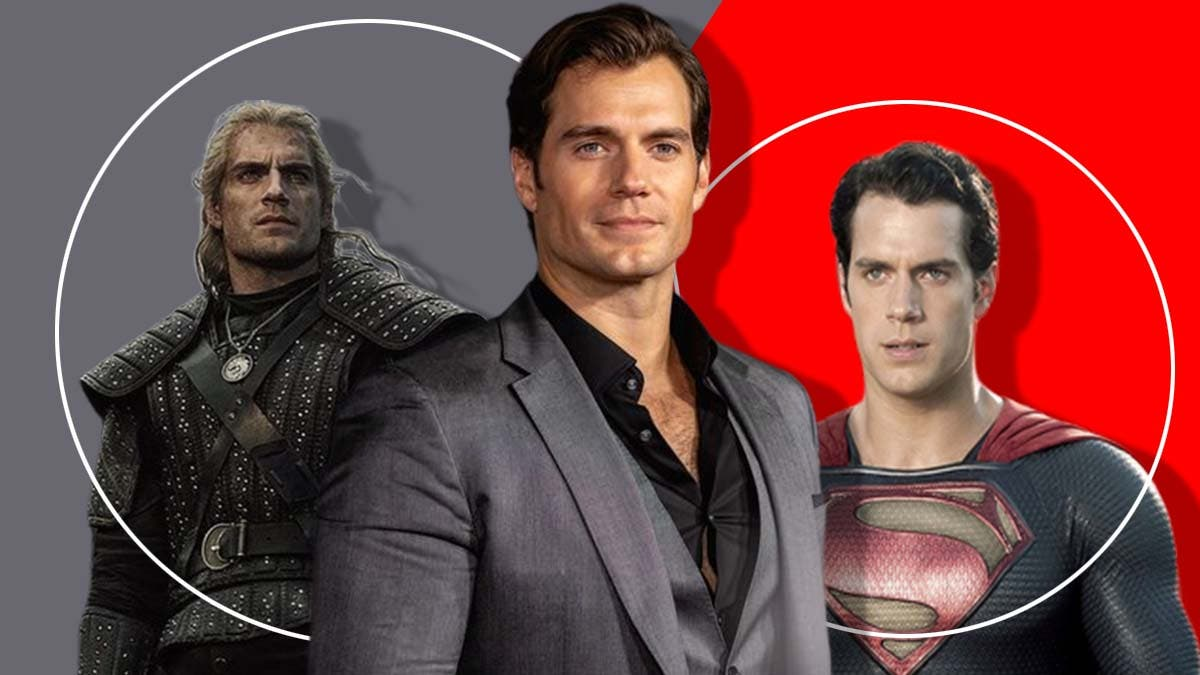 Henry Cavill Superman Witcher