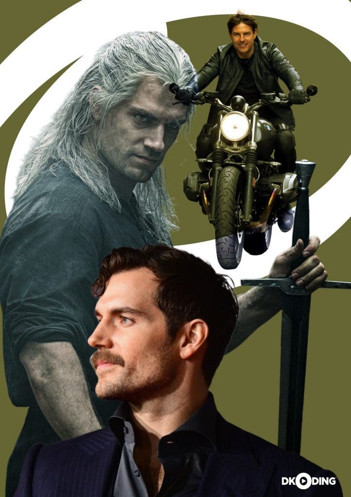 Henry Cavill Tom Cruise poster