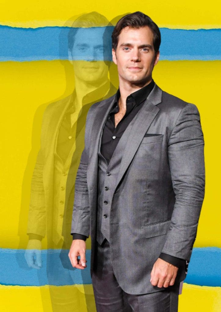 Henry Cavill The Witcher Superman