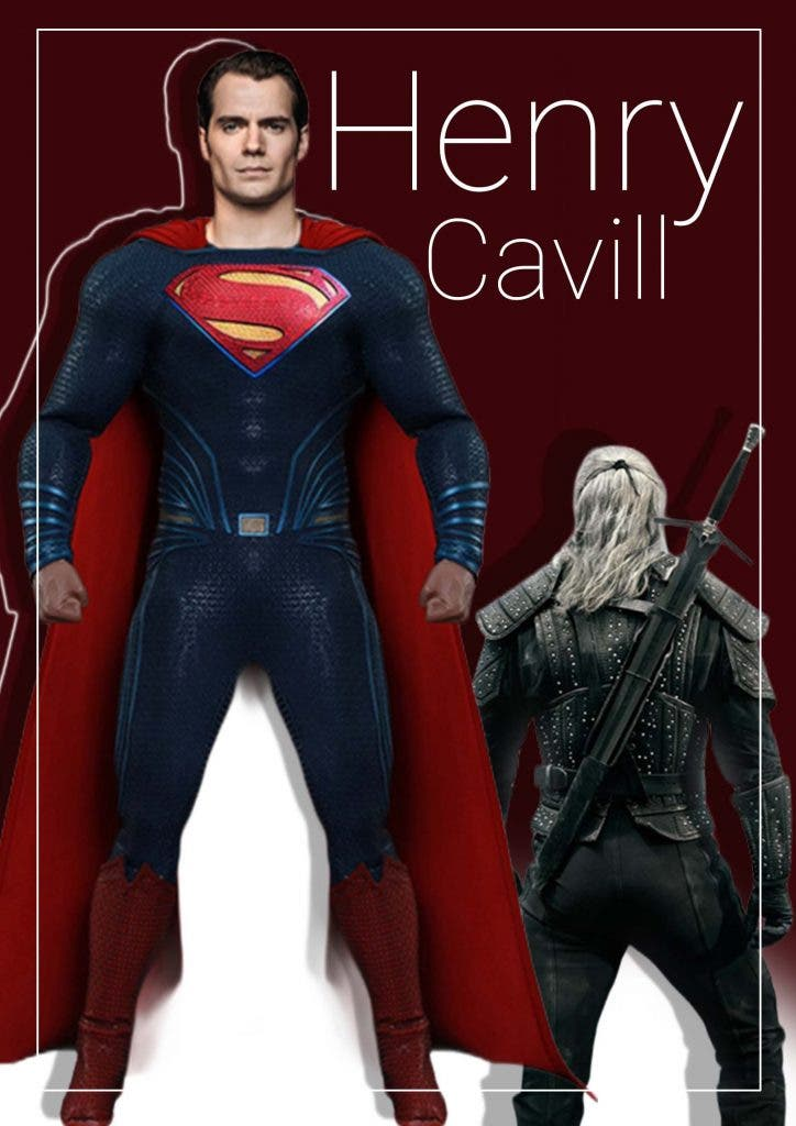 Henry Cavill The Witcher Or Superman