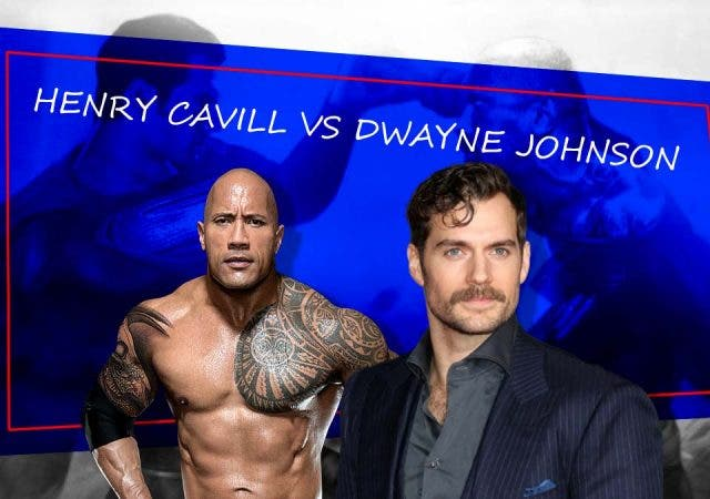 Henry Cavill vs Dwayne Johnson aka Superman vs Black Adam is no longer a dream