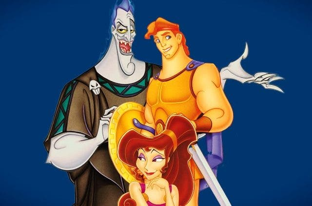 Disney Hercules animated movie