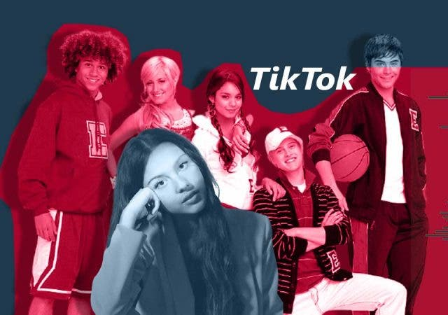 This TikTok song has a 'High School Musical' love triangle behind it.