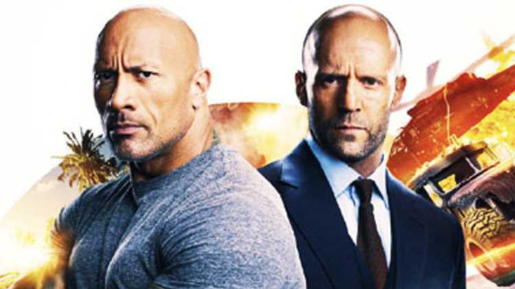 Hobbs & Shaw storms to $180 million on opening weekend