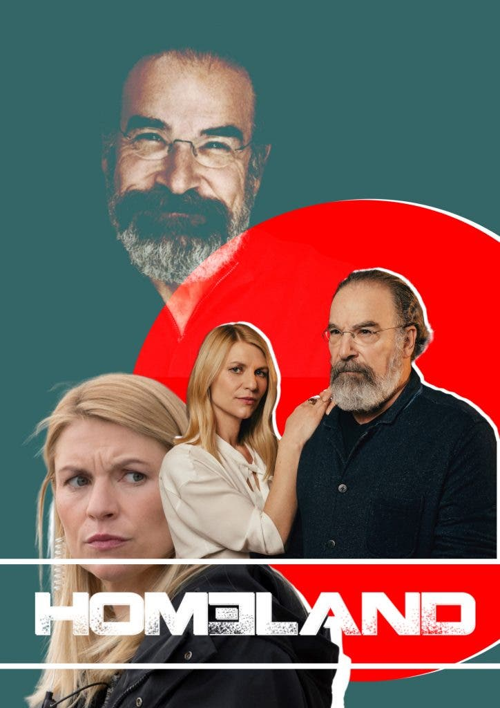 Homeland Saul and Carrie