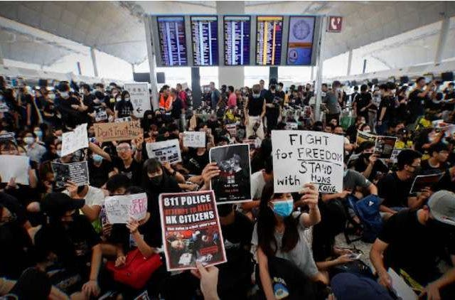 Hong-Kong-Protest-Airport-Global-Politics-DKODING