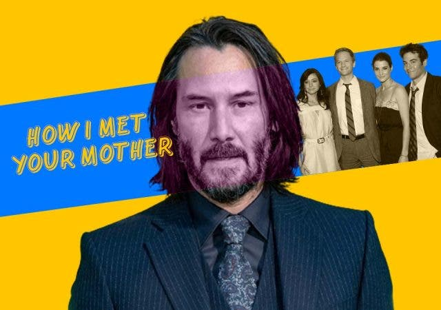 'Keanu Reeves' secret 'How I Met Your Mother' connection revealed