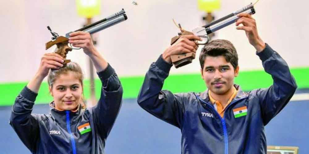 ISSF-World-Cup-2020-India-New-Delhi-Winners-Manu-Saurabh-Shooting-World-Cup-India-Others-Sports-DKODING