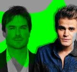 Ian Somerhalder and Paul Wesley The Originals