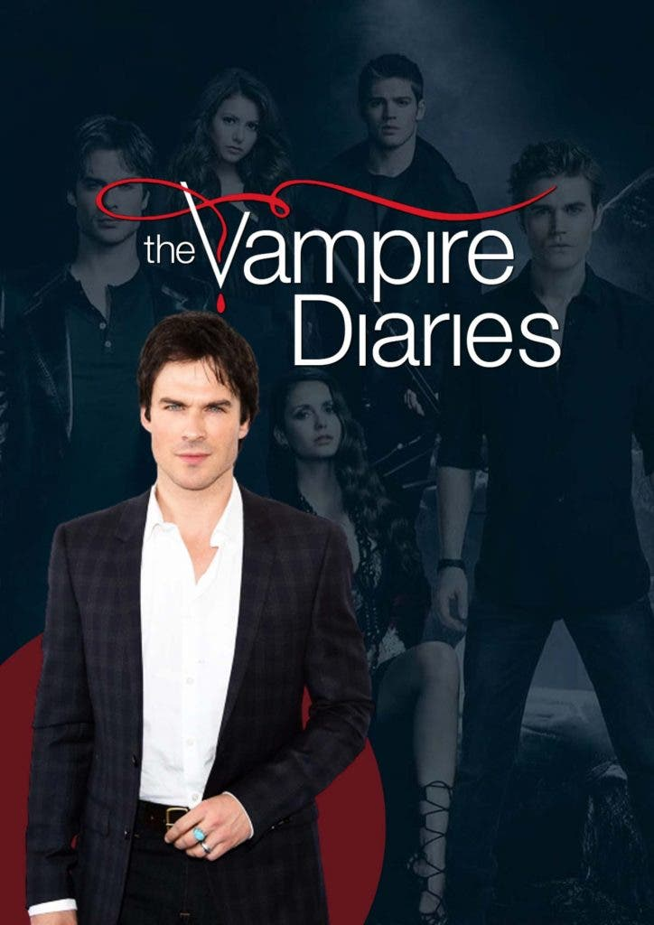 Cunning Ian Somerhalder stole someone else's role in 'The Vampire Diaries'