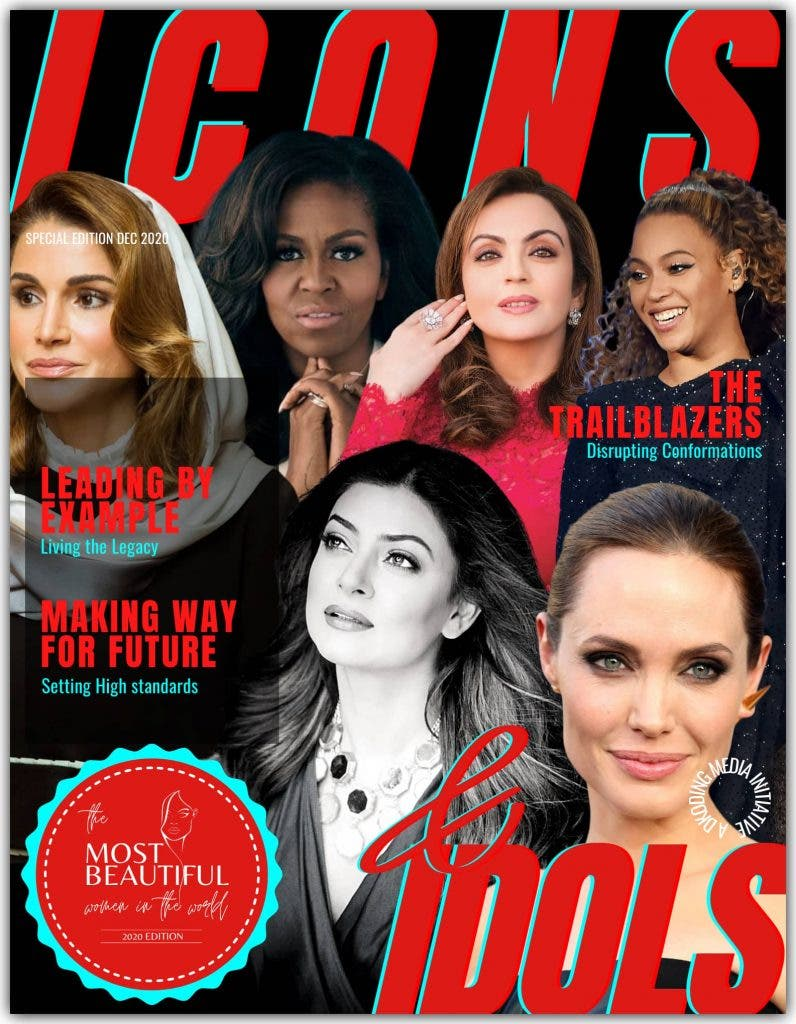 Women in the League of Icons & Idols - PWI Most Beautiful Women in the World 2020