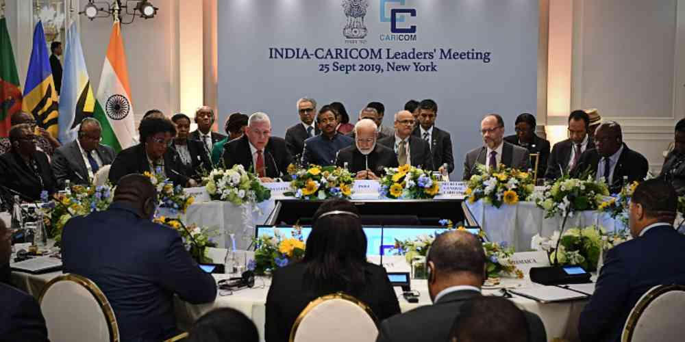 India Caricom Teaders Meeting Global DKODING