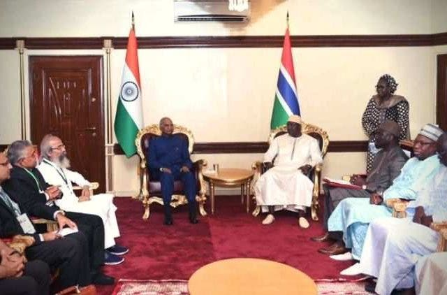 India-Extends-Assistance-Gambia-During-President -Kovinds-Visit-Global-Politics-DKODING