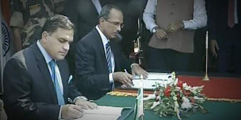 India Pakistan Sign Agreement On Kartarpur Corridor India DKODING