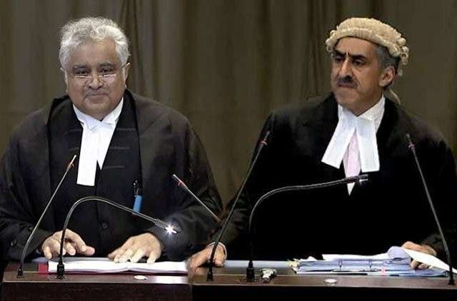 India-Pakistan-Lawyer-Harish-Salve-Khawar-Qureshi-NewsShot-DKODING