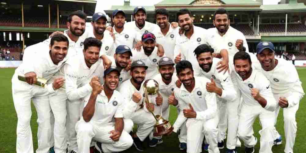 India Test Team Cricket Sports DKODING