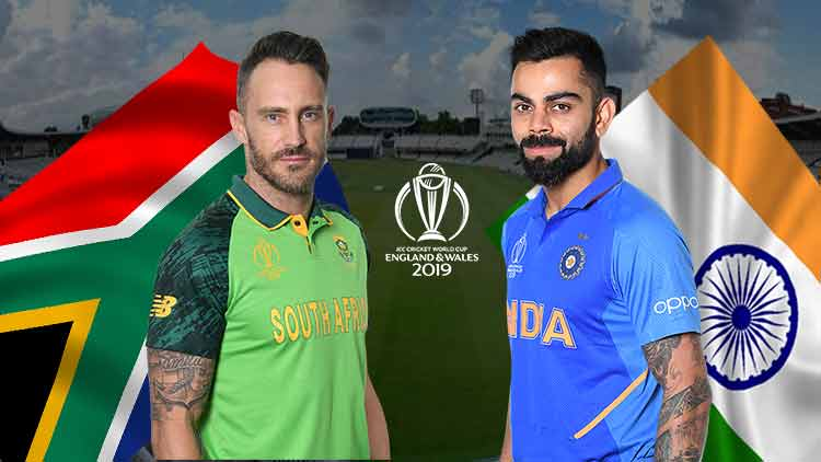 India-Vs-South-Africa-CWC19-Cricket-Sports-DKODING