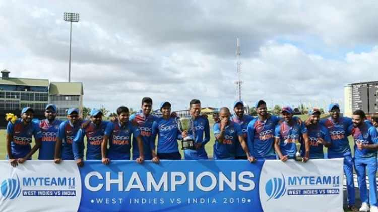 Ind vs WI: India clinch the T20 series by 3-0 - DKODING