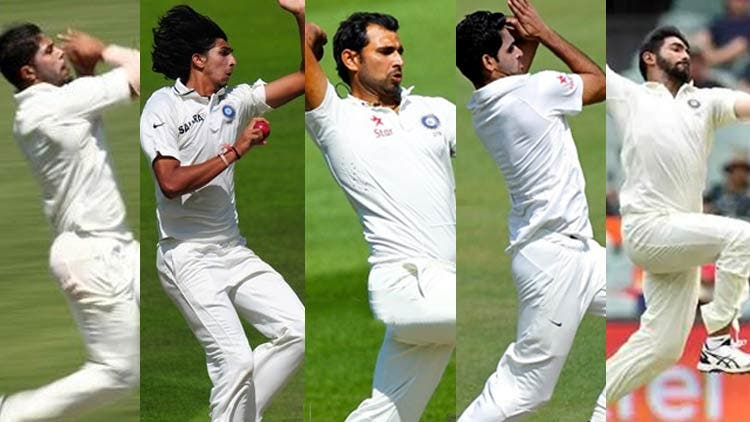 Indian Fast Bowlers Cricket Sports DKODING