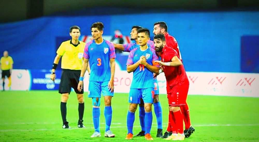 Indian-Football-Team-Intercontinental-Cup-Against-Syria-Football-Sports-DKODING