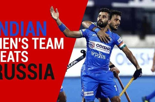 Hockey Olympics Qualifiers: Indian Men's team beats Russia DKODING