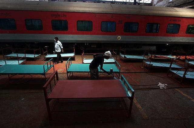 Indian Railways Modifying Train Coaches Into Isolation Wards