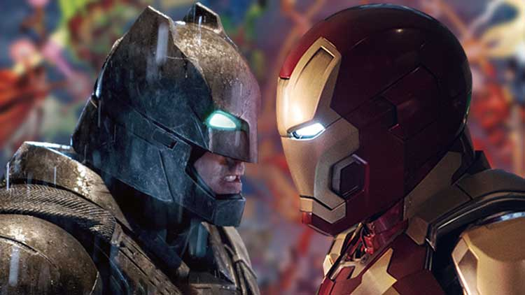 Marvel Taking Over DC Comics — Iron Man vs Batman Coming Soon