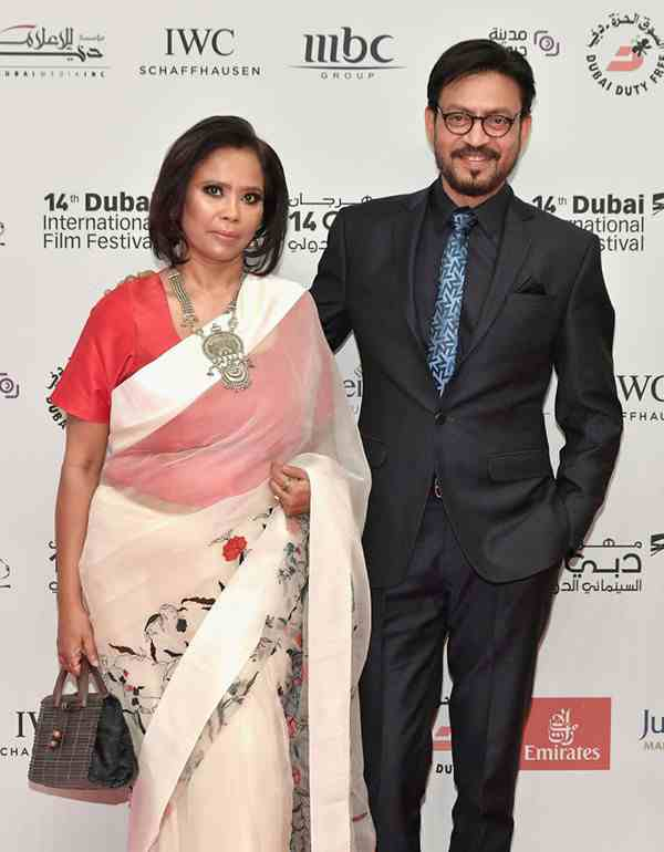 Irrfan Khan and his wife DKODING