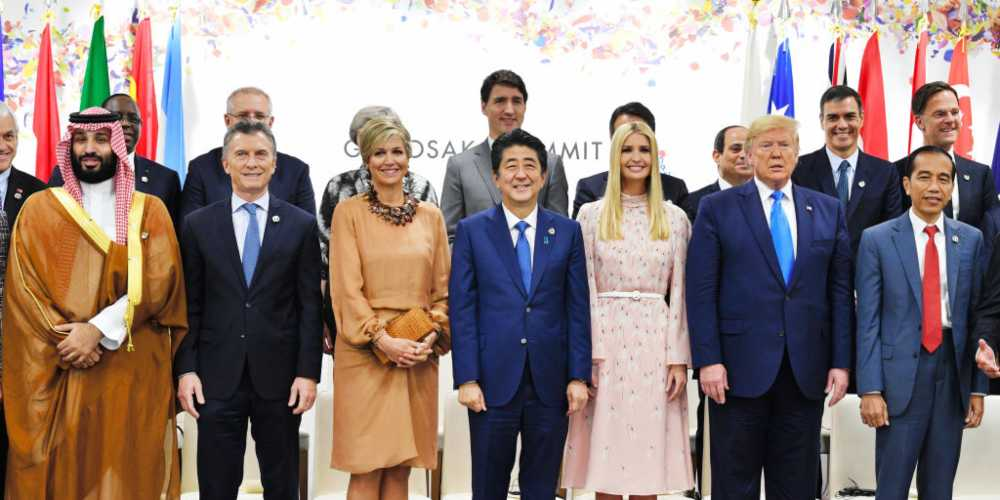 Trump's Nepotism is White House in Ivanka Trump's unwanted presence among world leaders