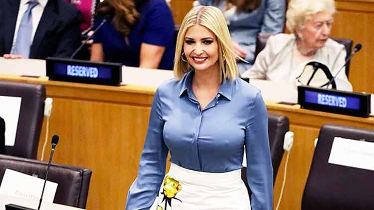 Ivanka Trump's Wardrobe Malfunction is a Classic Example of 'Tit for Tat'