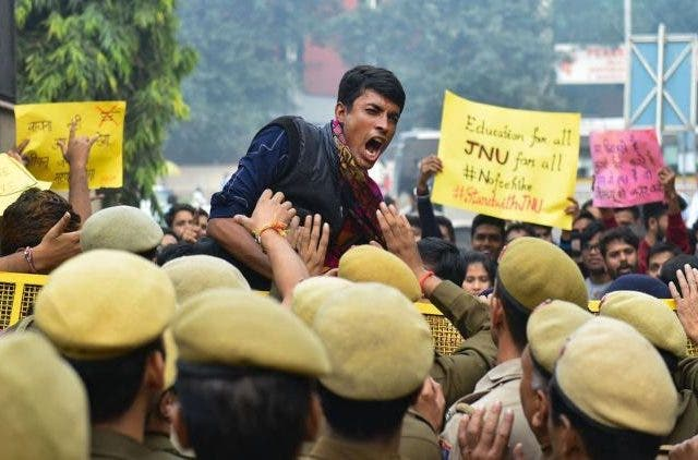 JNU Emergency Protests Right to Education DKODING