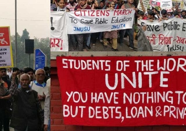 Massive Citizen's Protest Save Public Education