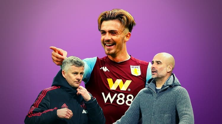 United Overtakes City In The Battle Of Manchester Over Aston Villa's Jack Grealish