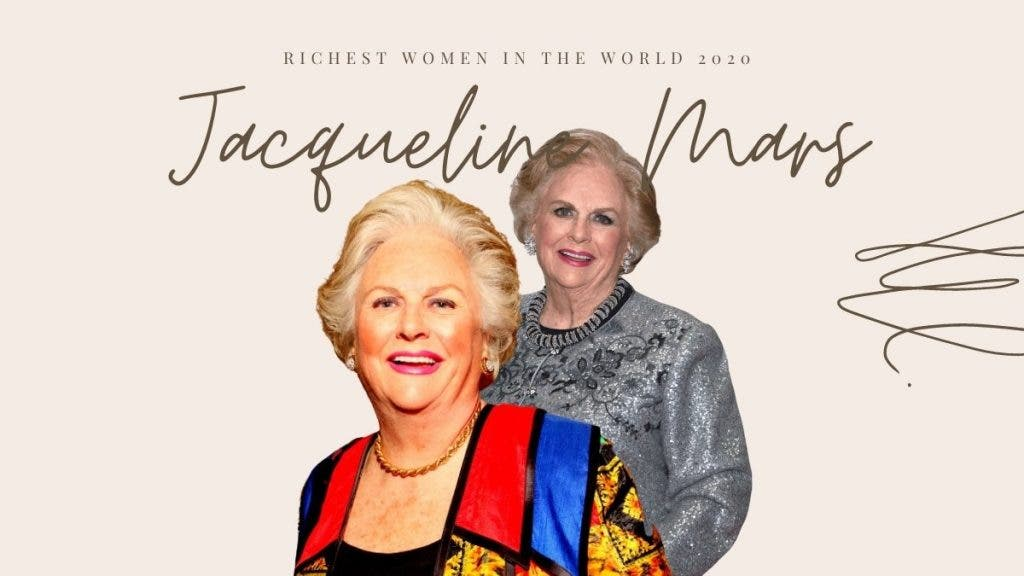 Jacqueline Mars - Richest Woman In The World - Top 10 List